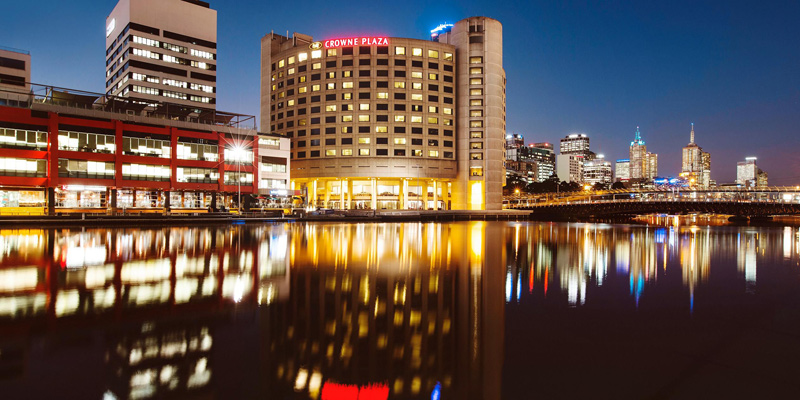 Crowne Plaza Melbourne, melbourne, Yarra River, city break