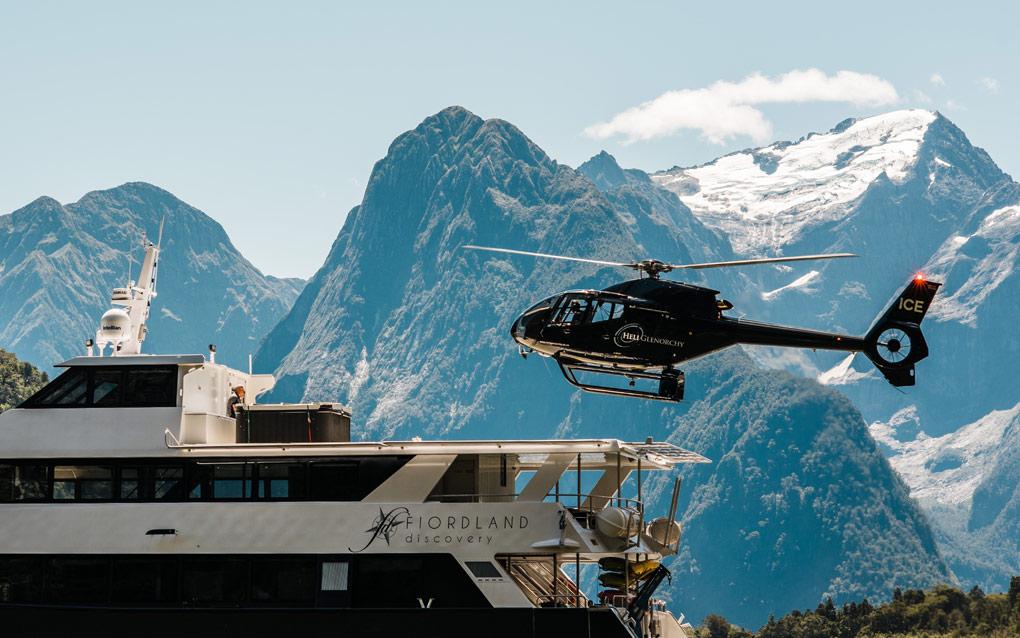 Milford Sound, Heli Glenorchy, Ignition Self Drive, New Zealand, Fiordland