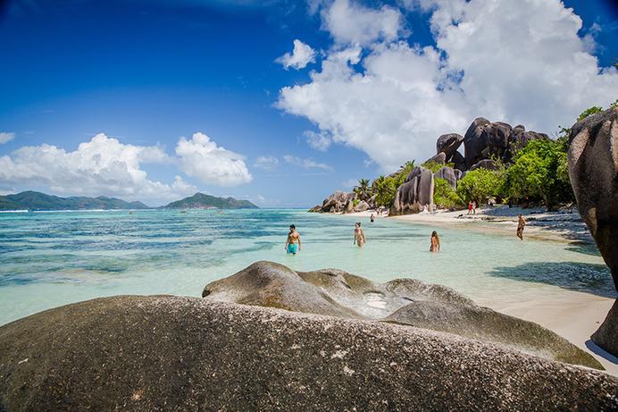 Sunsail, Seychelles,Source d'Argent