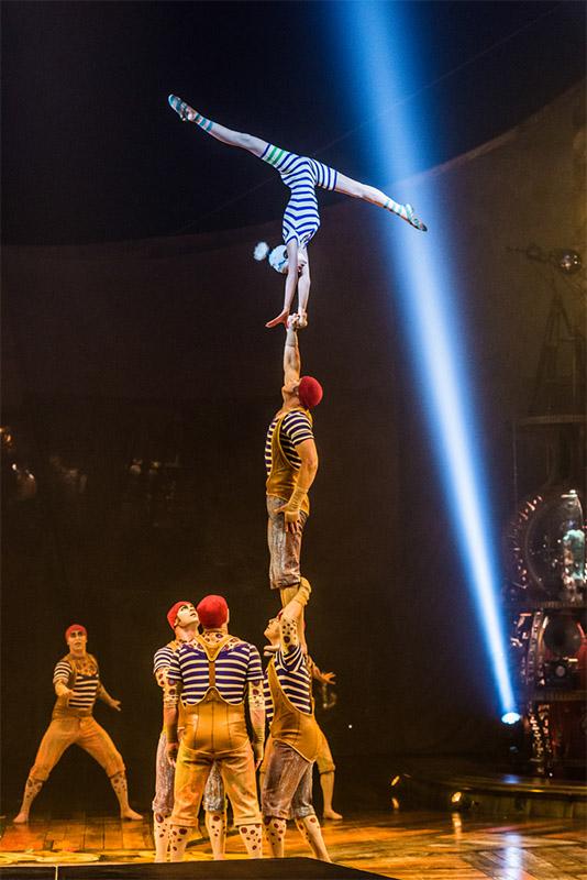 Banquine, Cirque du Soleil, Kurios