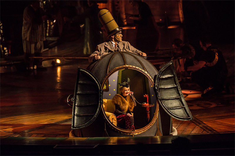 Mini Lili, Kurios, Cirque du Soleil