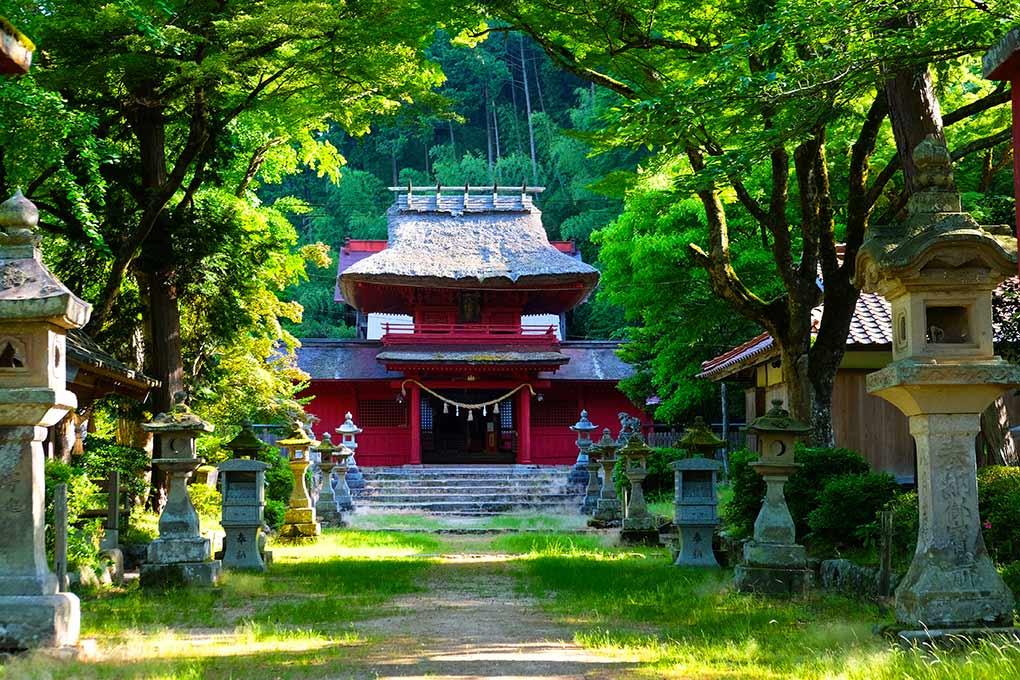 Sain'in Quest, Walk Japan, walking in Japan, Washihara Hachimangu Shrine
