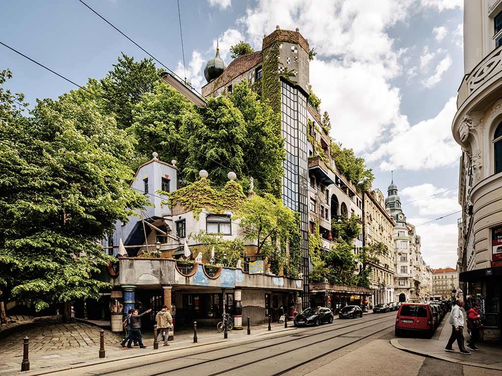Hundertwasser House, Vienna, architecture, Austria