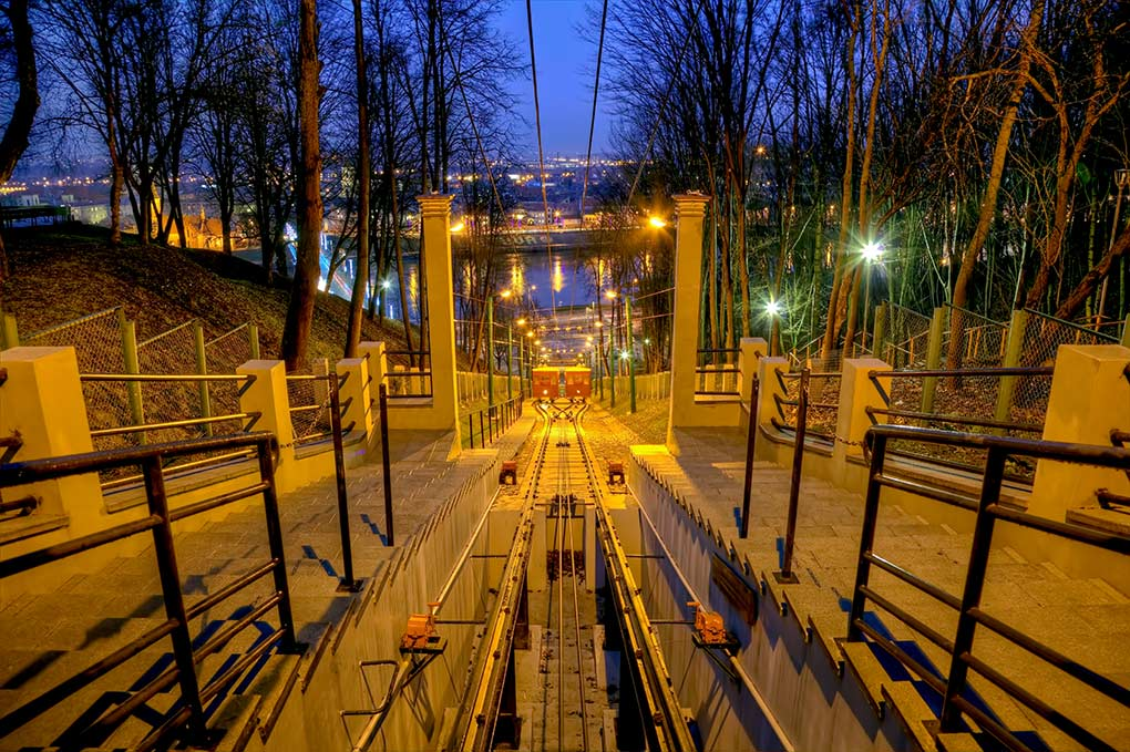 Lithuania Travel, Lithuania, funicular railway, Kaunas, movie locations