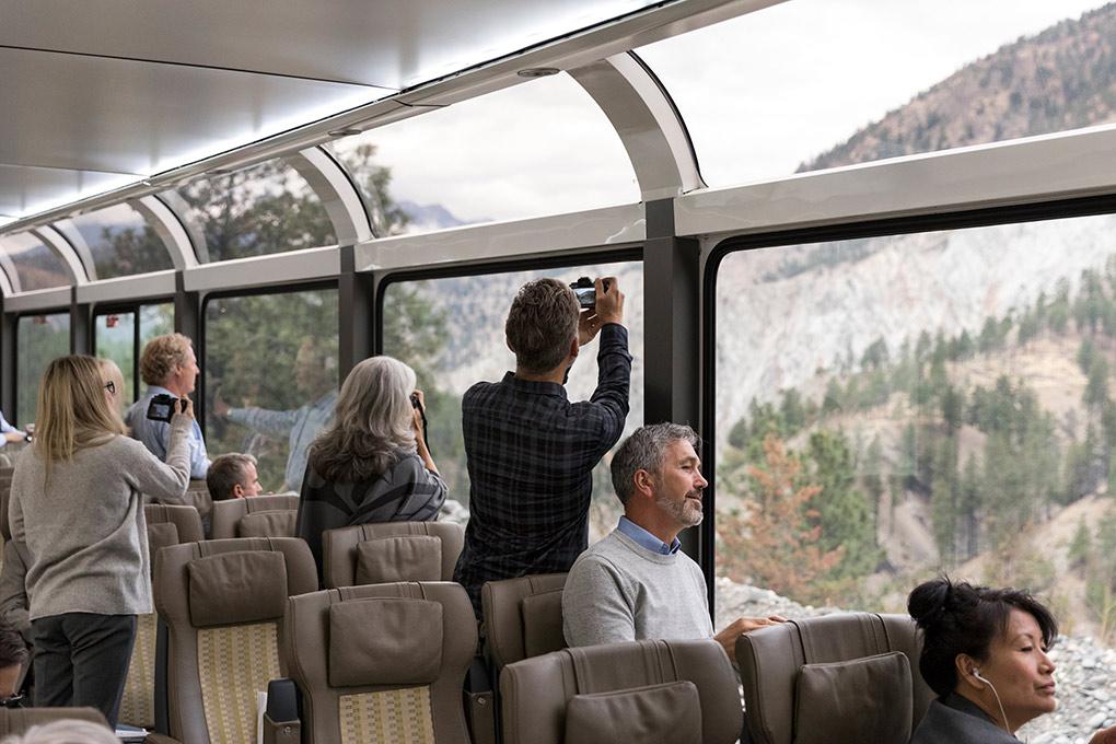 Rocky Mountaineer, USA, Rockies to Red Rocks, luxury train