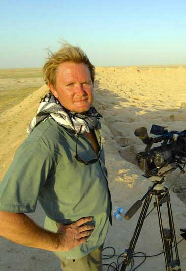 David Adams, documentary maker, Arcadia Expeditions
