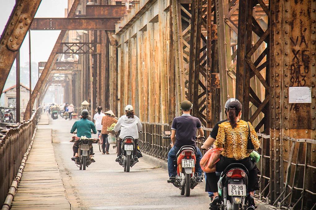Long Bien Bridge Hanoi, Arcadia Expeditions, travel, tours