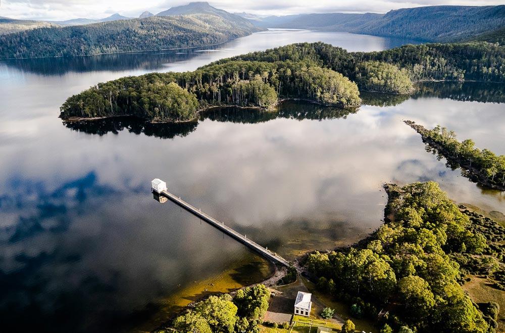 Pumphouse Point, Tasmania, luxury hotel Tasmania