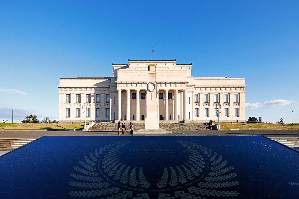 Auckland, Auckland War Memorial Museum, New Zealand