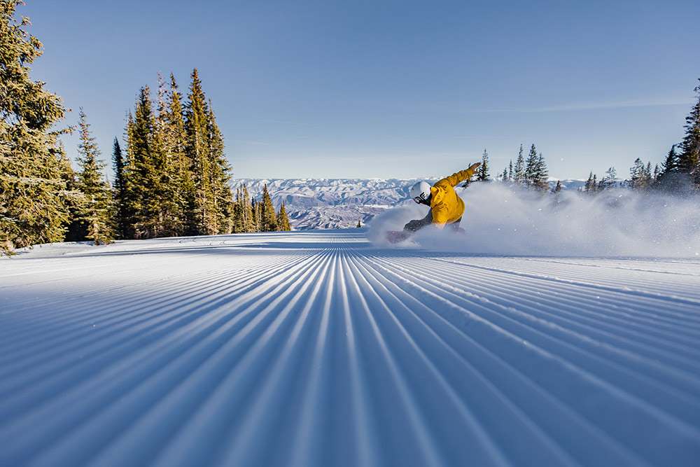 Buttermilk, Colorado, corduroy, Aspen Snowmass