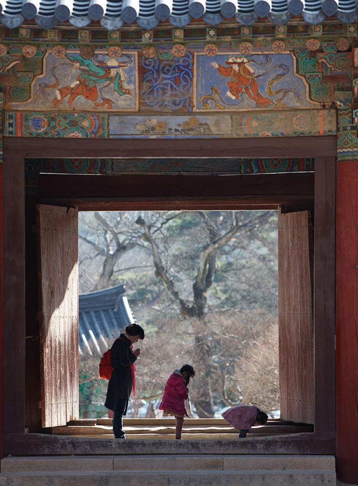 Tongdosa Temple, Korean temples, South Korea