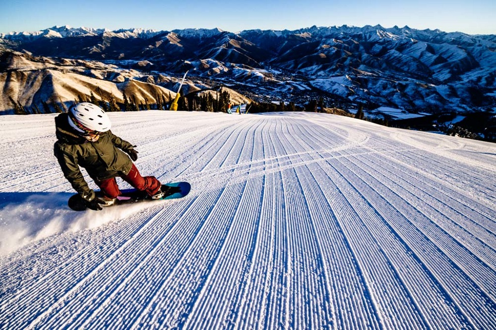 Sun Valley, Ski Idaho, snowboarding, Ketchum