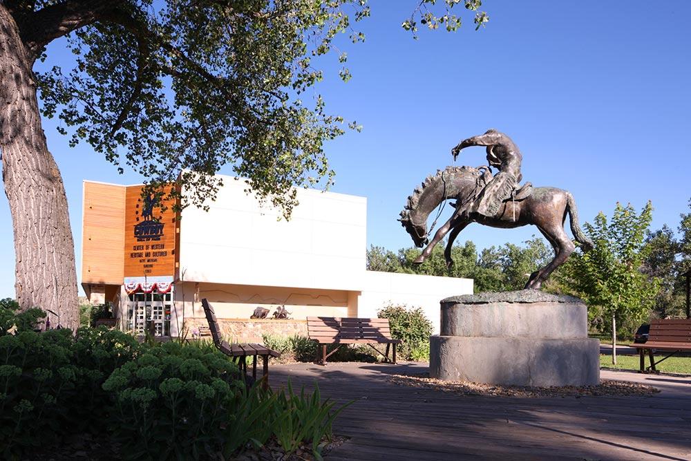 Hall of Fame, Cowboy Hall of Fame, Medora, North Dakota