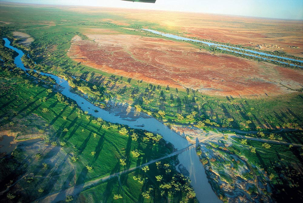 Birdsville view, Queensland, outback