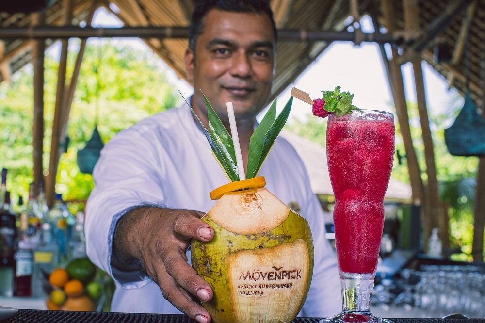 Maldives, Movenpick Kuredhivaru, Movenpick resorts, cocktails