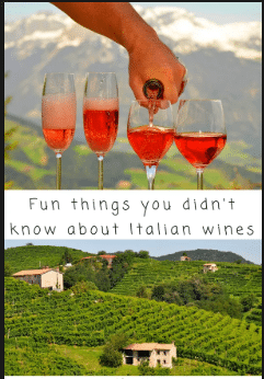 Fun Facts about Italian Wines