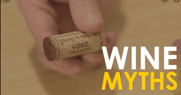 12 Wine Myths Debunked
