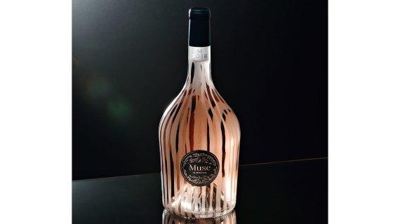 a bottle of Muse de Miraval,