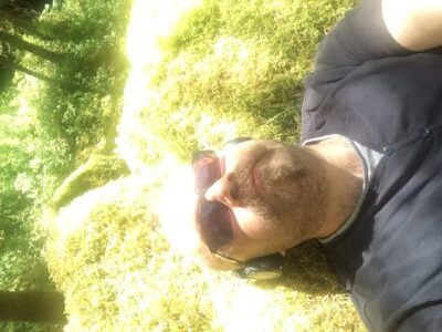 Lying on a mossy bed, bright sunshine upon my head...
