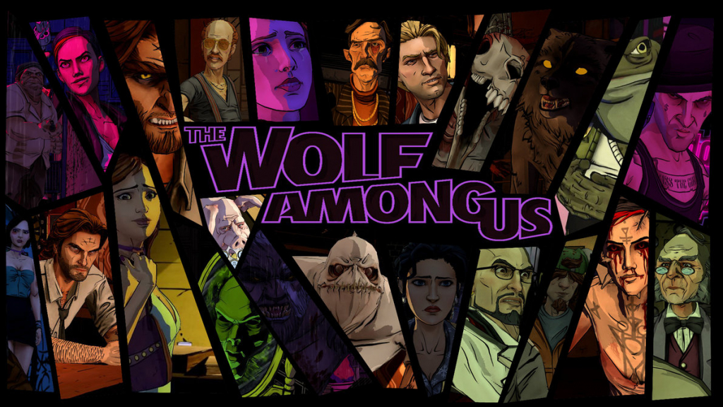 The Wolf Among Us characters