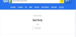 Flipkart Announced 3 days offers