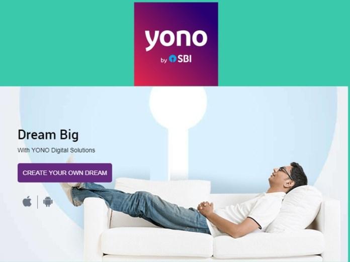 SBI YONO Digital bank App for apply loans, open savings account etc.