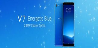 Vivo V7 Energetic Blue variant launched in India at Rs 18,990/-