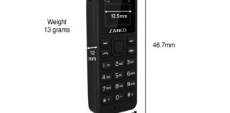 Zanco Tiny T1 World's smallest Mobile Phone launched