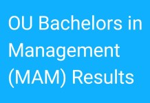 OU Bachelors in Management October 2017 Exam Results Released
