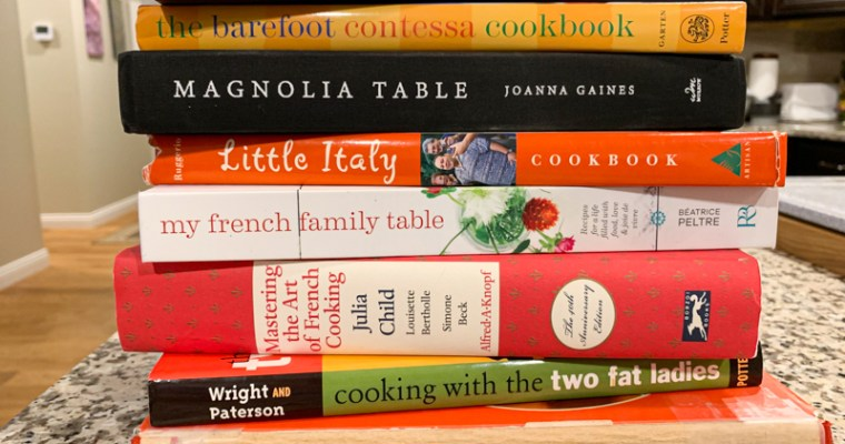 A Few Of My Favorite Cookbooks