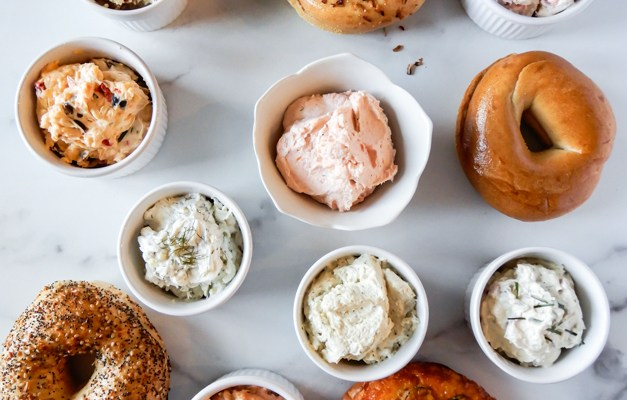 Savory Cream Cheese Spreads / Schmear