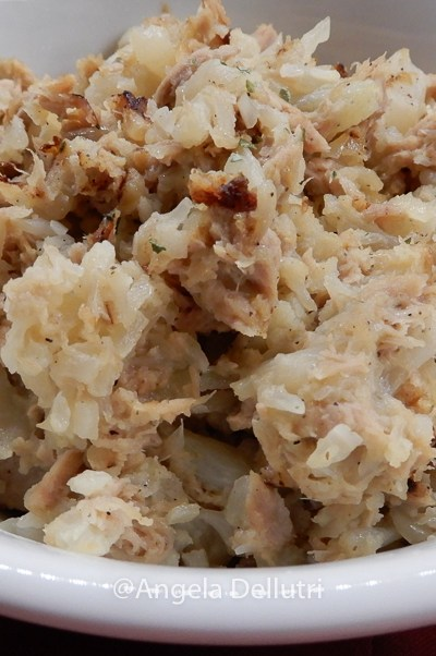 Tuna Cauliflower Skillet