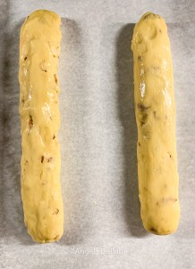 Biscotti 1st Bake