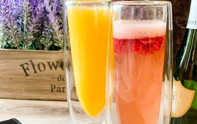 Mimosas, Raspberry Kir Royale