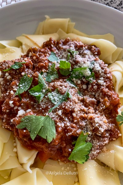 Bolognese Sauce with Papperadelle