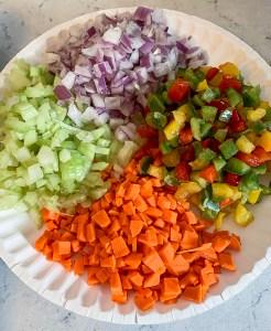Meatloaf - Diced Vegetables