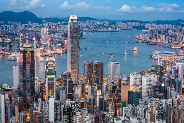 Hong Kong is a major financial services hub