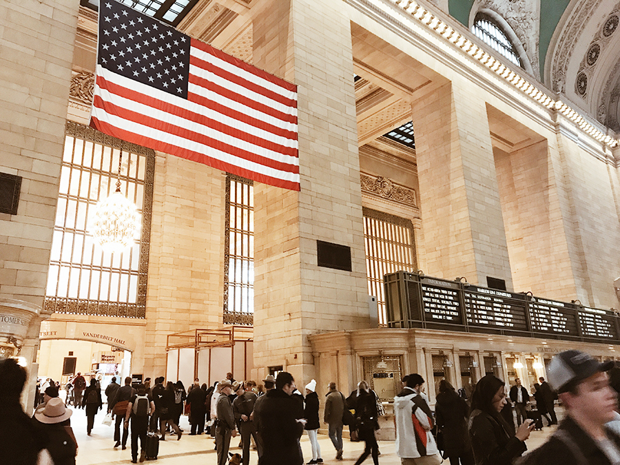 usa nowy jork grand central