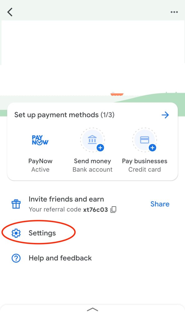 Google Pay OptIn1