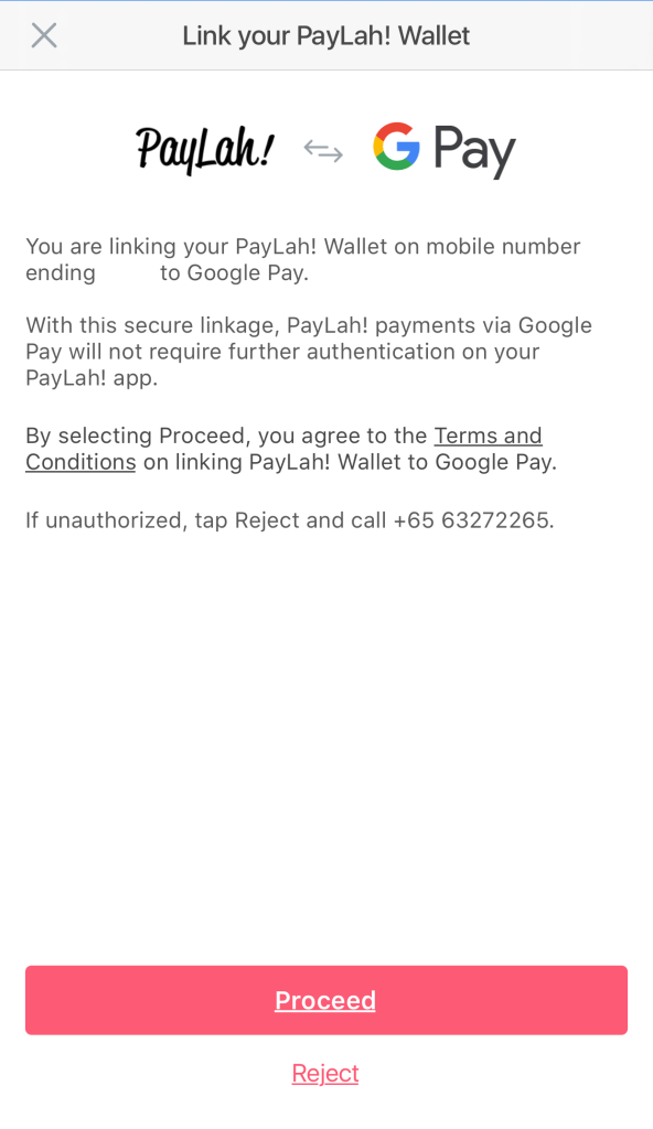Google Pay PayLah3