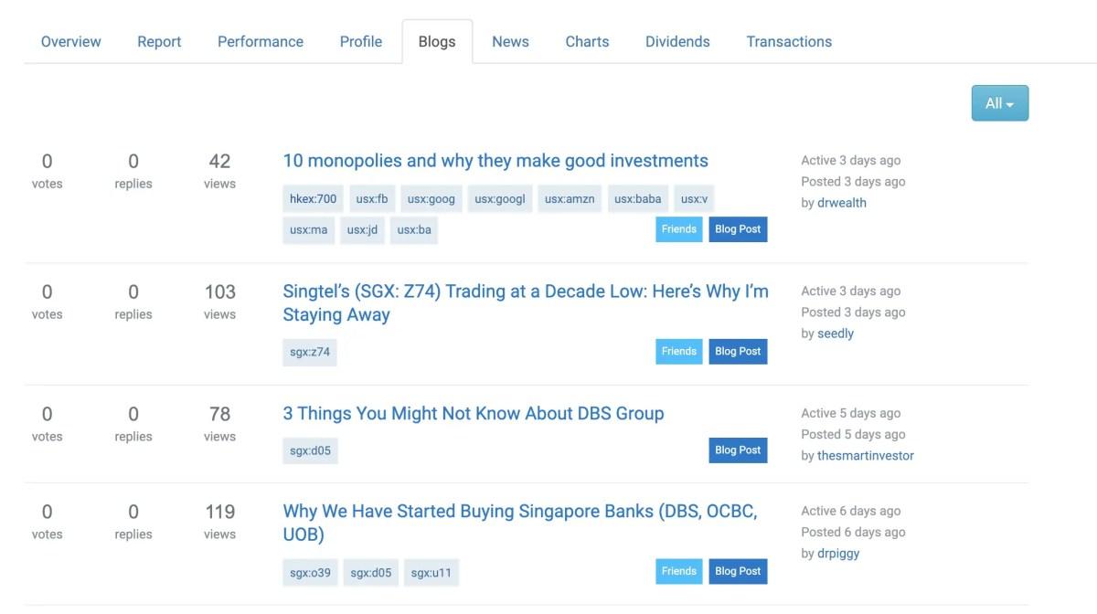 StocksCafe Blogs