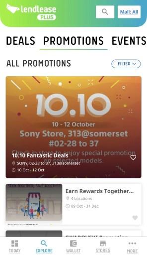 Lendlease Plus Promotions