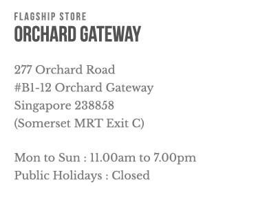 OCBC FRANK Store Orchard Gateway