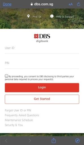 SoCash Payment Method DBS