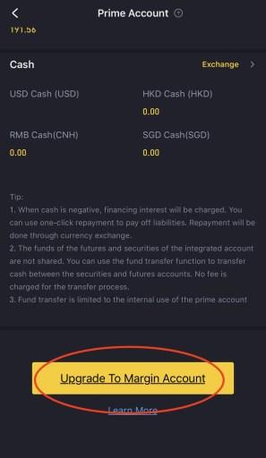 Tiger Broker Upgrade To Margin Account 1