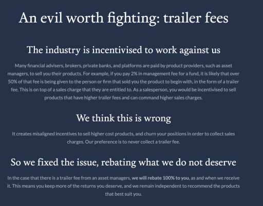 Endowus Trailer Fee Rebate
