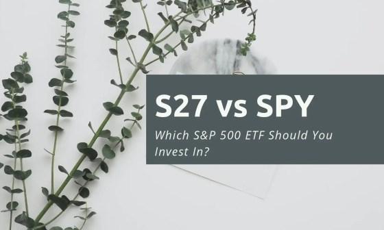 S27 vs SPY
