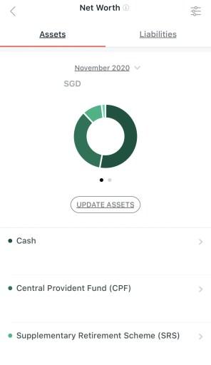 SGFinDex Assets NAV Planner DBS