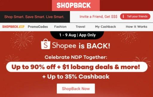 ShopBack Why No Shopee 2