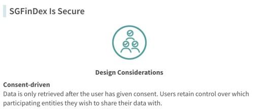 SGFinDex Data Consent